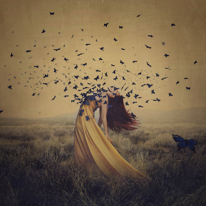 "Fall Wedding Inspiration: ""Beauty In Darkness"" // Brooke Shaden // Inspiring"